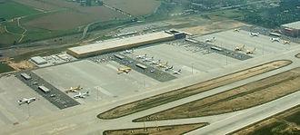 European Air Transport Leipzig - Facilities of EAT Leipzig at Leipzig/Halle Airport
