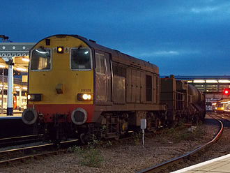 History of rail transport in Great Britain 1995 to date - Image: DRS 20308