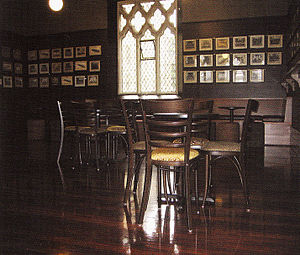 Common Room (university) - Dail Junior Common Room, St John's College, University of Sydney, Australia.