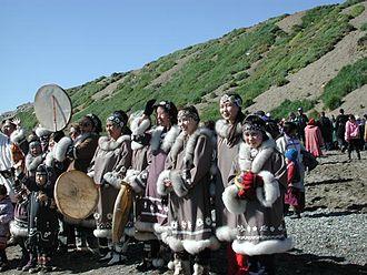 Chukotsky District - Dancers in Lorino