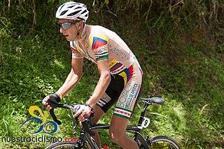 Daniel Rincón Colombian cyclist