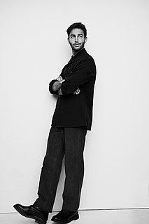 Darin Zanyar Swedish singer and songwriter