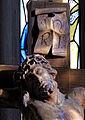 Das Münster St. Johannes in Bad Mergentheim. Detail Kreuzigungsgruppe.jpg