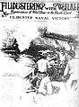 Das Seegefecht vor San Juan del Sur ams 23. November 1856. Die Explosion an Bord der ONCE DE ABRIL.jpg
