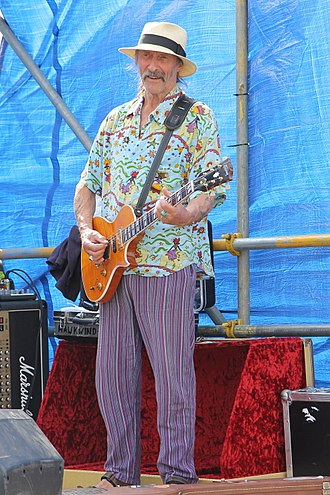 Dave Brock - Image: Dave Brock of Hawkwind