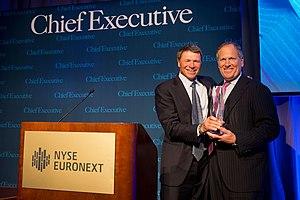 David M. Cote - Dave Cote presented CEO of Year Award 2013