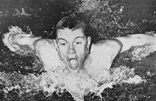 Dave Gillanders American swimmer