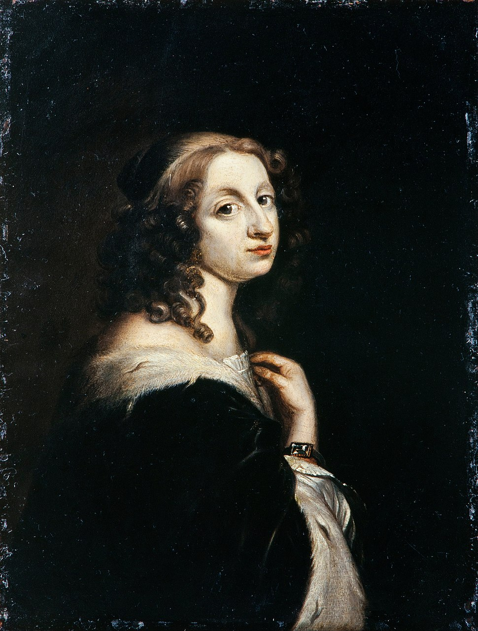 David Beck - Christina, Queen of Sweden 1644-1654 - Google Art Project