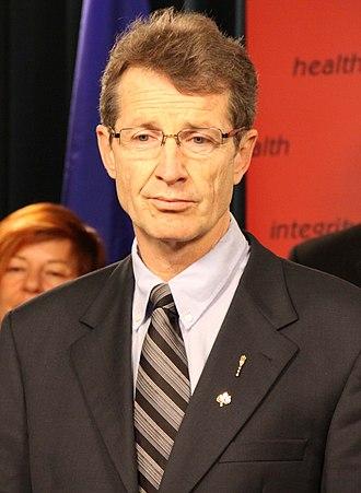 Alberta general election, 2015 - Image: David Swann April 12, 2010