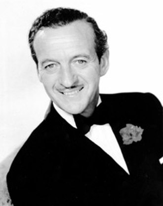Portrayal of James Bond in film - David Niven starred in the 1967 film Casino Royale