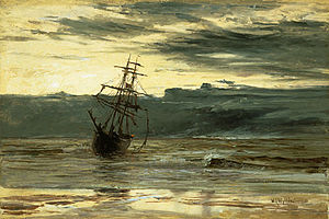 William Lionel Wyllie - Dawn after a Storm, 1869, which won Wyllie a Turner Gold Medal at the age of 18