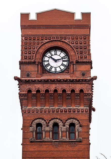 Tower Detail Dearborn Station, Chicago, IL, USA, tower detail.jpg