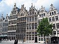 Decorated gables on the Grote market - panoramio.jpg