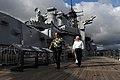 Defense.gov News Photo 110531-D-XH843-009 - Secretary of Defense Robert M. Gates tours the USS Missouri Memorial, Ford Island, Hawaii, on May 31, 2011.jpg