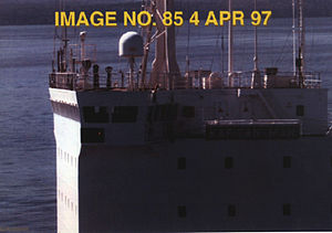 Strait of Juan de Fuca laser incident - Kapitan Man on 4 April 1997