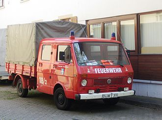 Volkswagen LT - Early LT 31 double chassis cab