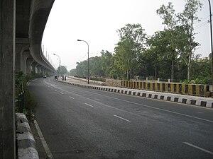 Transport in Delhi - Delhi Flyover