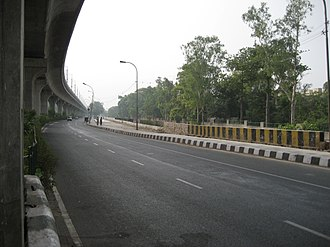 Transport in Delhi - Delhi Flyover