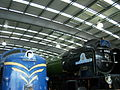 Deltic DP1 & 60163 Tornado, Locomotion Shildon, 28 April 2010.JPG