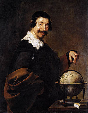 Portrait of Pablo de Valladolid - Image: Demócrito, by Diego Velázquez