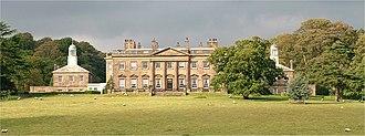 Albert Illingworth, 1st Baron Illingworth - Denton Hall, the estate purchased by Lord Illingworth in 1920.