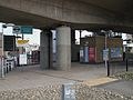 Deptford Bridge DLR station southern entrance.JPG