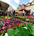 Der regionale Wochenmarkt in Bad Mergentheim. 02.jpg
