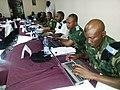 Des magistrats, enquêteurs et autres membres du personnel de la Justice militaire congolaise suivent un cours d'initiation à l'outil informatique et aux outils d'investigation (15202335559).jpg