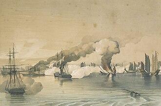 Battle of Tonkin River - Destruction of Shap Ng tsai's fleet