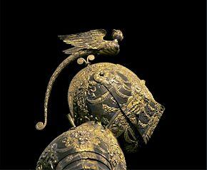 Detail armure parade duc de Parme et Plaisance Vienne