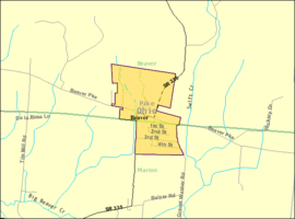 Detailed map of Beaver, Ohio.png