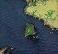 Devyaty Val Island near Kunashir Island, Lesser Kuril Chain, Sentinel-2 satellite image, 2016-06-06.jpg