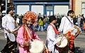 Dhol players at St. Patrick's day parade (4434393184).jpg