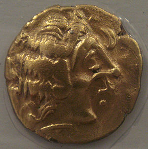 Diablintes - Coin of the Diablintes, 5th-1st century BCE.