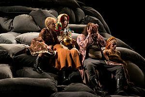 The Power of Darkness - Akademietheater Vienna, 2015 Foto: Francisco Peralta Torrejón