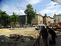 Dietla - Stradomska intersection, roadworks Kraków 2019 III.jpg