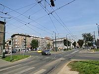 Dietla and Starowiślna crossing in Kraków