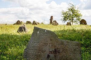 Dieveniškės - Jewish cemetery of the town.