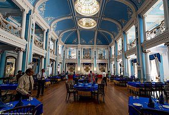 Lalitha Mahal - Image: Dining Hall of Lalitha Mahal