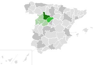 Roman Catholic Diocese of Segovia - Image: Diocesis de Segovia