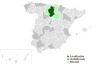 Roman Catholic Archdiocese of Burgos - Image: Diocesisdeburgos