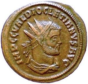 Diocletian - Antoninianus of Diocletian