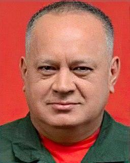 Diosdado Cabello Venezuelan politician and military officer