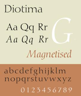 Diotima (typeface)