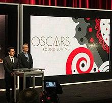 J. J. Abrams e Alfonso Cuarón annunciano le candidature per il miglior montaggio sonoro.