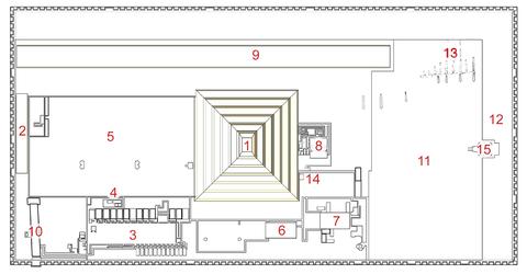 Egyptské pyramídy datovania