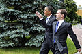 Dmitry Medvedev and Barack Obama 7 July 2009-4.jpg