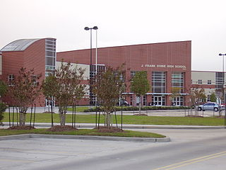 Dobie High School Public high school in the United States