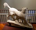 Dog from The Rescue, by Horatio Greenough, 1837-1851, marble - Middlebury College Museum of Art - Middlebury, VT - DSC08250.jpg