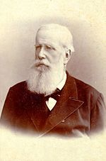 Emperor Pedro II at age 61, 1887